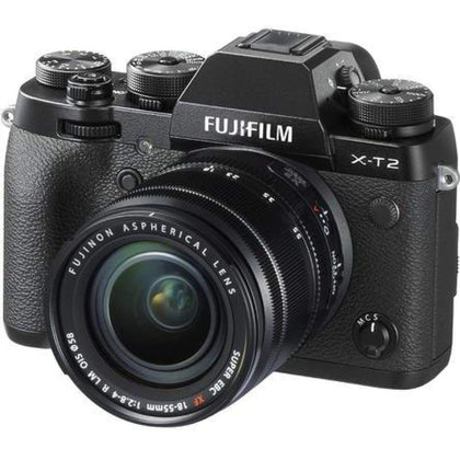 Fujifilm X-T2 4K Wi-Fi Digital Camera + 18-55mm XF Lens