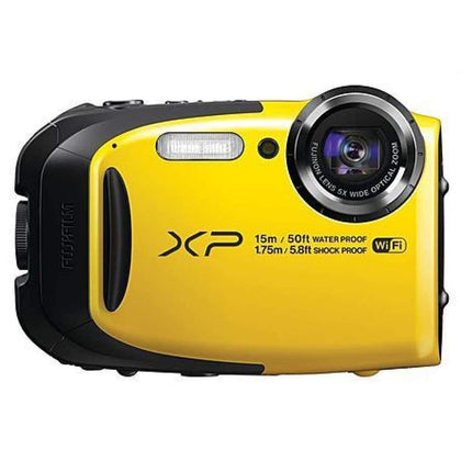 Fujifilm ZIDS4KXNSO FinePix XP80 Waterproof Shockproof Digital Camera 16.4MP 5x Zoom Yellow