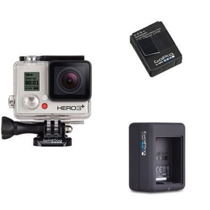 GoPro Camera HERO3 Silver Bundle