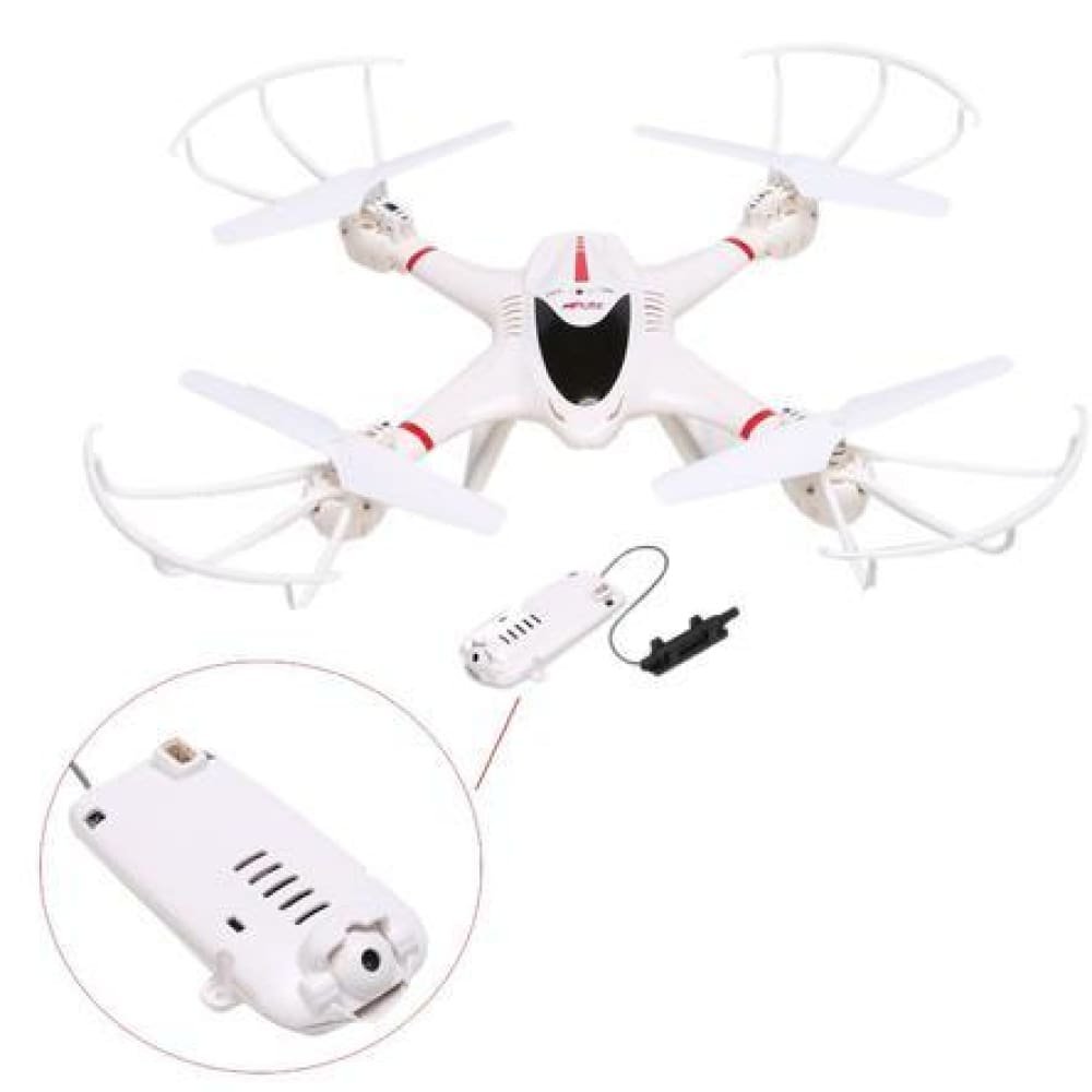 greatdeal Professional 2.4GHz 6-Axis Gyro RC Quadcopter 3D Roll Headless Mode C4005 WiFi FPV Camera