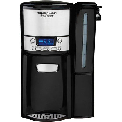 Hamilton Beach BrewStation 12 Cup Dispensing Coffeemaker with Removable Water Reservoir | Model# 47900