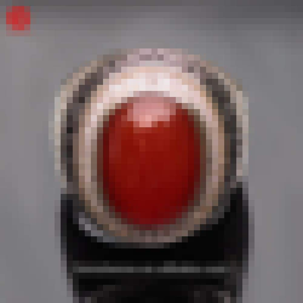 Hot selling turkish rings men silver ring red agate in 925 sterling with low price View Honshense Product Details from Haifeng County