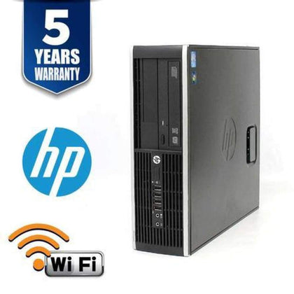 HP PRO 6300 SFF I3 3220 3.3 GHZ 4GB 500GB DVD Win10 HOME 5YR WTY USB WIFI- Refurbished