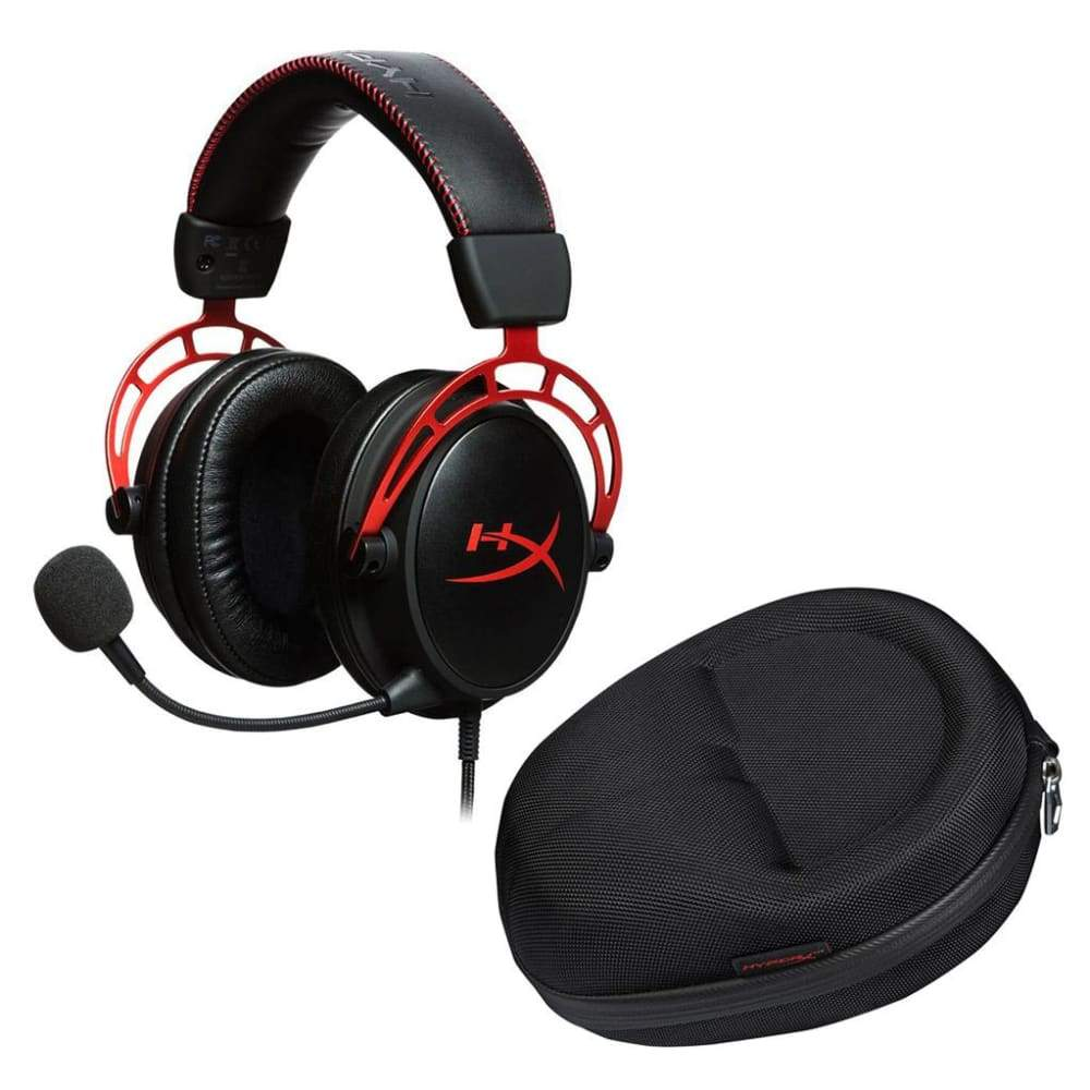 HyperX Cloud Alpha Gaming Headset with Carrying CaseHyperX Case