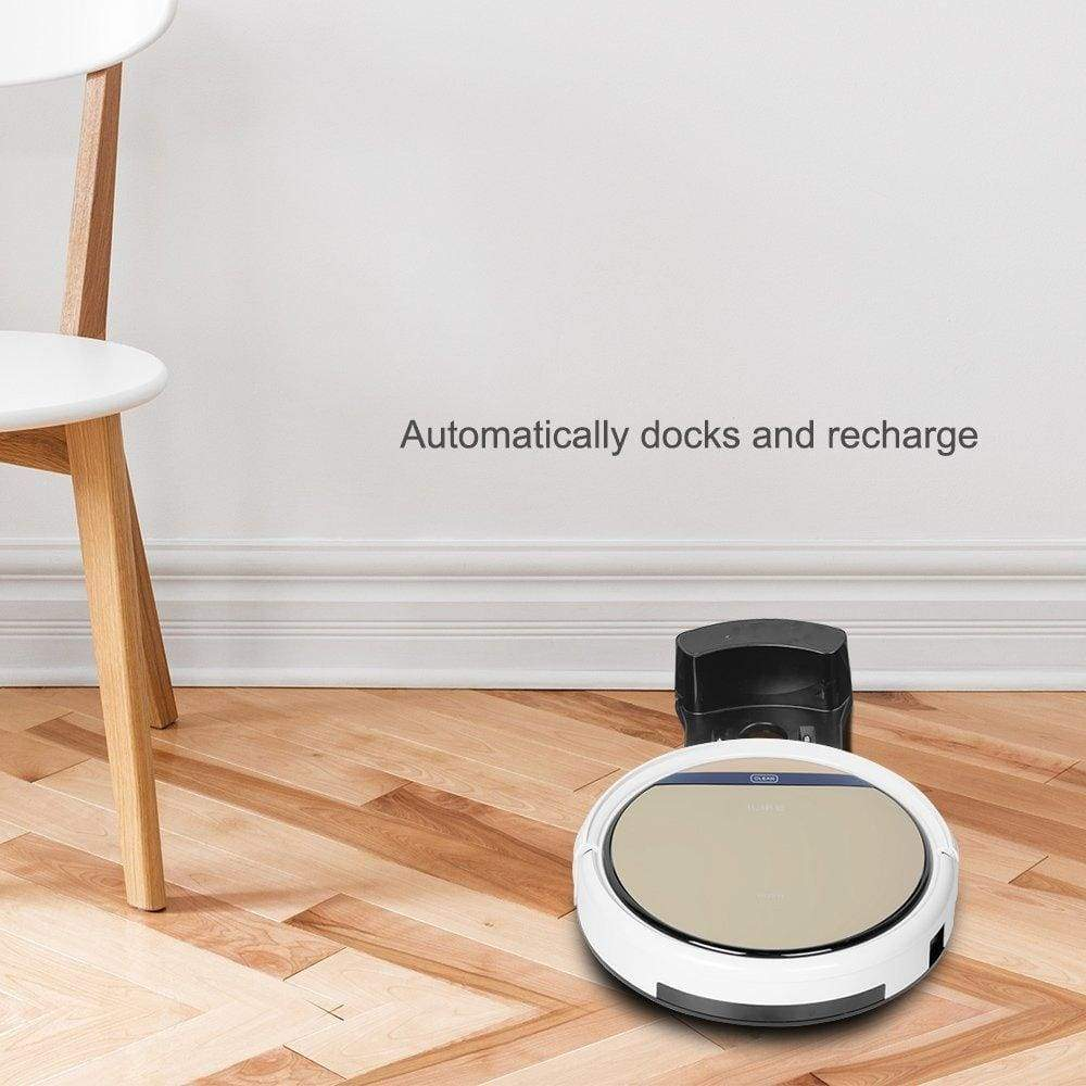 ILIFE V5s Pro 2-in-1 Vacuuming & Mopping Robot Vacuum White and Gold
