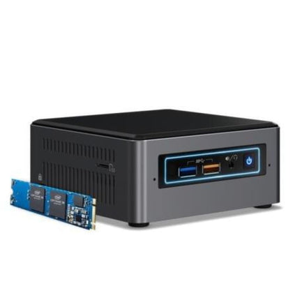 Intel NUC Barbones MiniPC Kit NUC7i7BNHX1 with 16GB Optane Memory