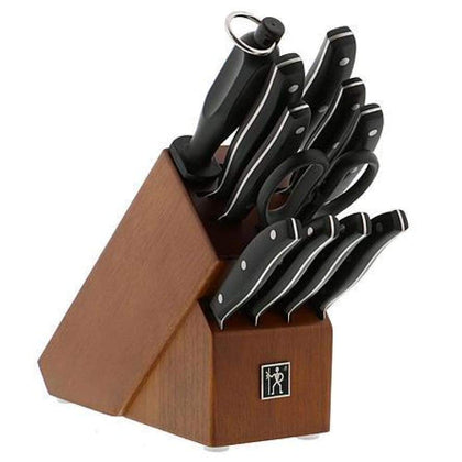 J.A. Henckels 12pc. International Definition Stainless Steel Knife Block Set
