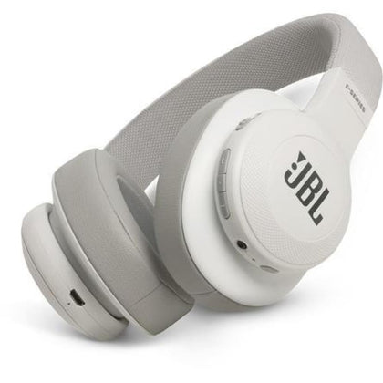JBL Signature Sound Bluetooth Wireless On-Ear Headphones with Built-In Remote and Microphone White (New Open Box)