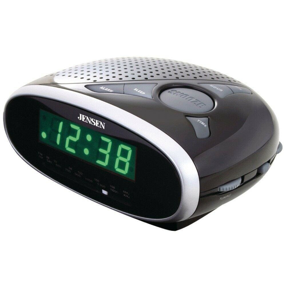 Jensen Am And Fm Alarm Clock Radio JENJCR175