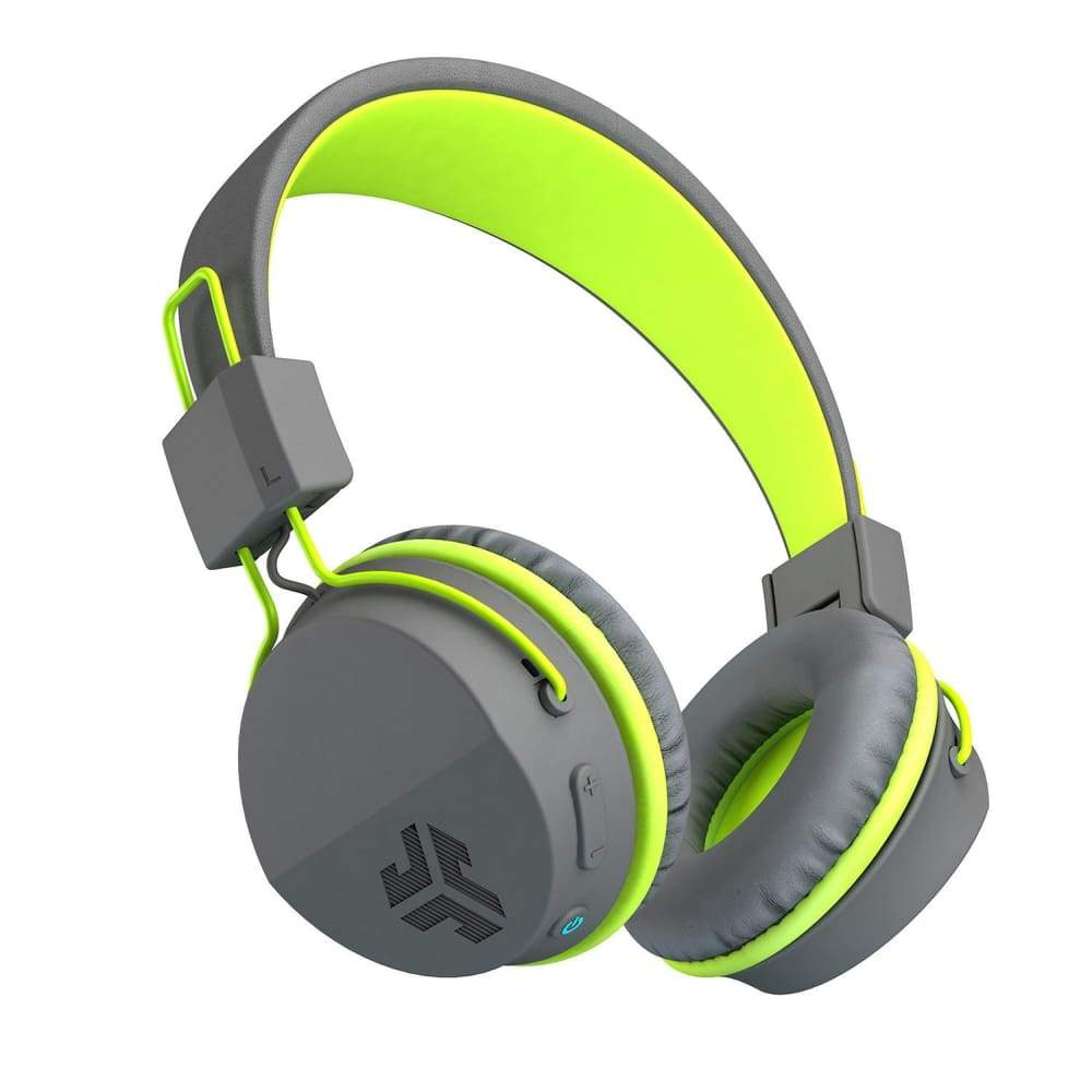 JLab Neon Bluetooth On-Ear Headphones with Universal Mic - Green