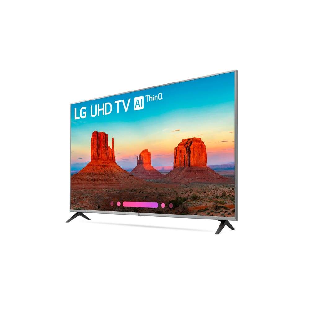 LG 55 Class 4K (2160) HDR Smart LED UHD TV w/AI ThinQ - 55UK7700PUD