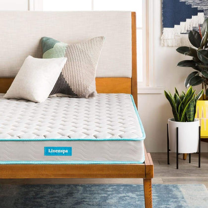 Linenspa 6 Inch Innerspring Mattress-in-a-Box