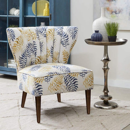 Maria Accent Chair - Fern Fabric