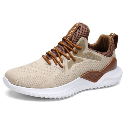 Men Casual Sneakers Fashion Male Fly weave Breathable shoes Big yards sneakers