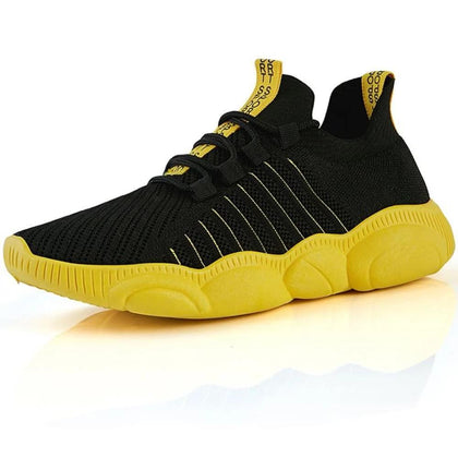 Men Sneakers Thick Sole Soft Casual Shoes Footwear Zapatos Male Walking Outdoor For