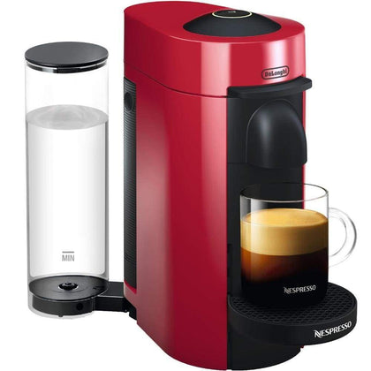 Nespresso VertuoPlus Coffee and Espresso Maker by DeLonghi Cherry Red