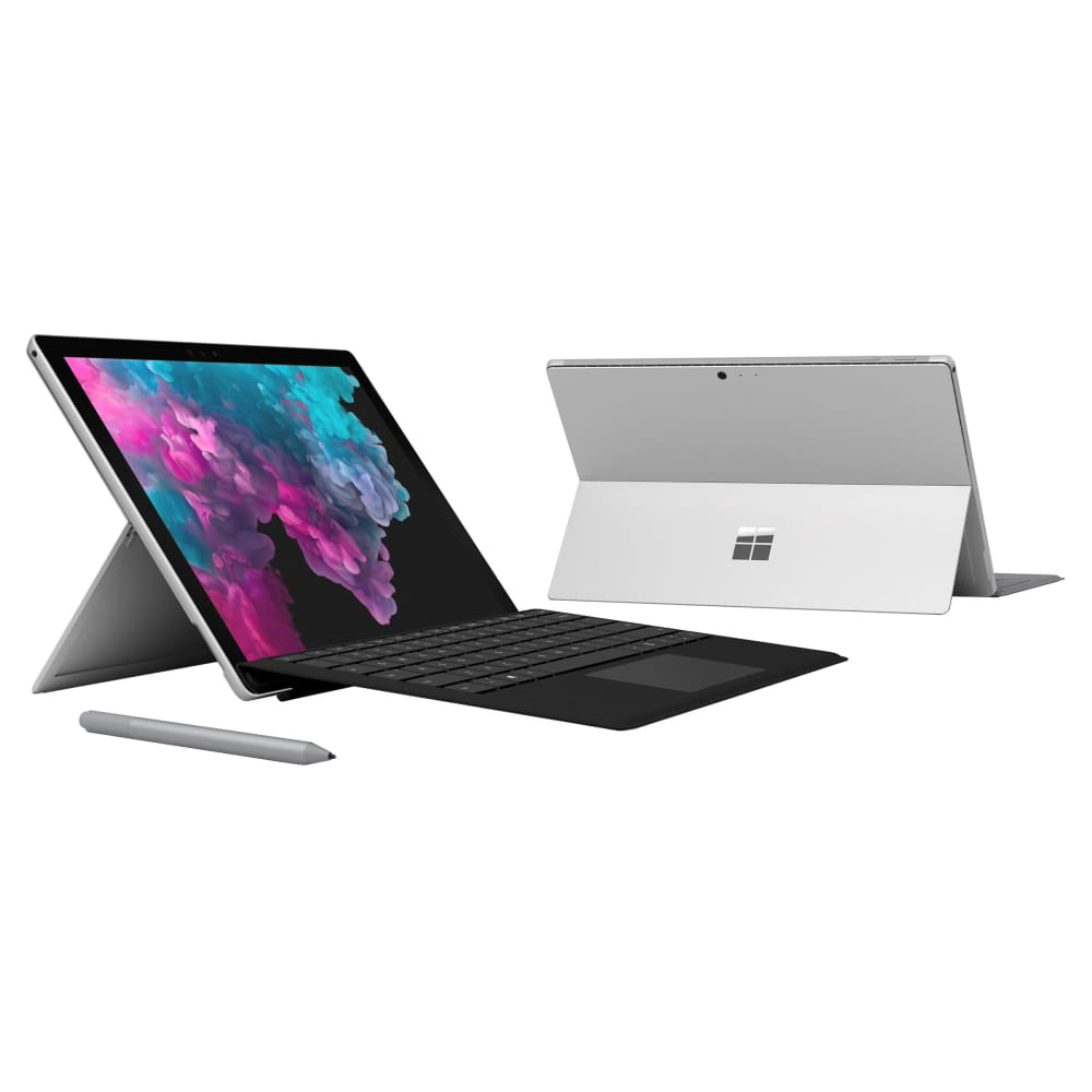 New Microsoft Surface Pro 6 Bundle - Intel Core i5 - 2736 x 1824 Display - Black Type CoverNew - Cover
