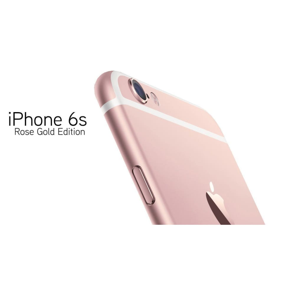 New *UNOPENDED* Apple iPhone 6s - 16/64/128GB Unlocked Smartphone - Rose Gold / 128GB