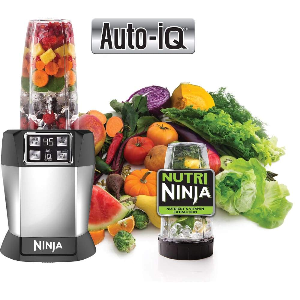 Nutri Ninja Nutrient Extraction Single Serve Blender with Auto IQ (BL480)