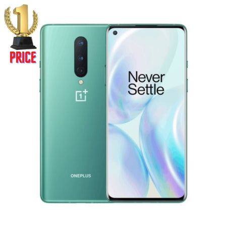 OnePlus 8 (5G) 48MP Camera 12GB+256GB Triple Back Cameras Face Unlock & Screen Fingerprint Identification 6.55 inch 3D Hydrogen OS (Android
