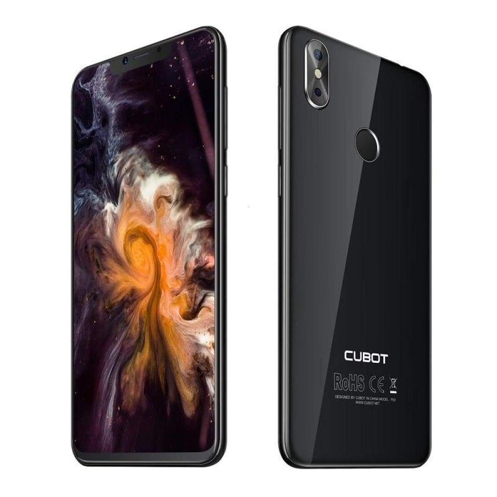 Original Cubot P20 4GB 64GB Notch Screen Android 8.0 Mobile Phone MT6750T Octa-Core 6.18 Inch Dual Rear Camera Smartphone 4G LTE