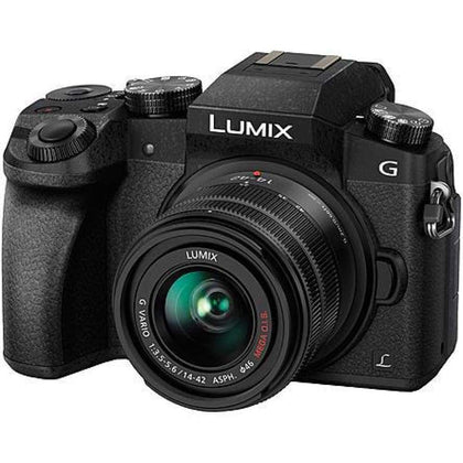 Panasonic DMC-G7KK Lumix DMC-G7 4K Wi-Fi Digital Camera and Lens