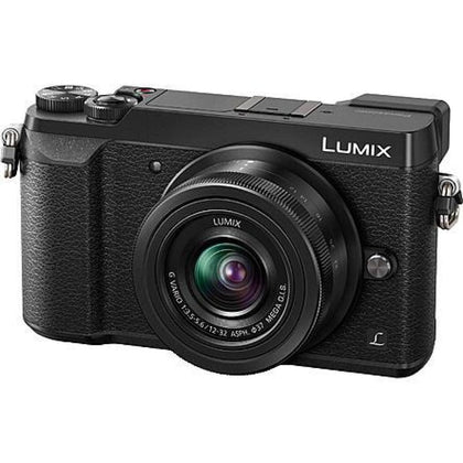 Panasonic DMCGX85KK 16MP LUMIX GX85 4K Micro Four Thirds Camera and Lens - Black