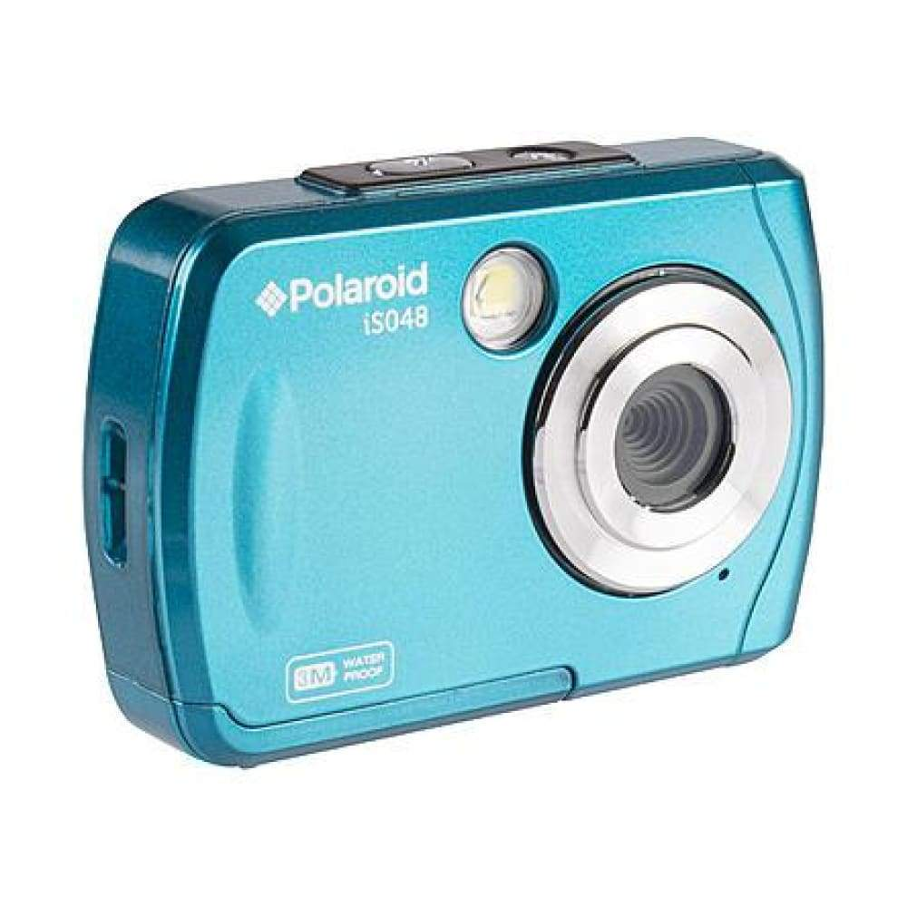 Polaroid IS048-TEAL-WM 16MP Waterproof Digital Camera w/ Instant Sharing - Teal