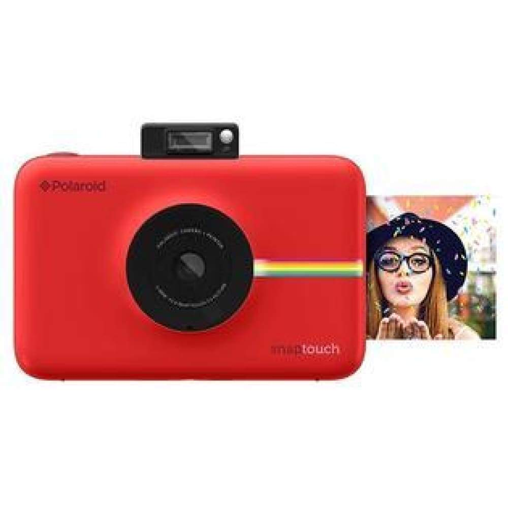 Polaroid Snap Touch Instant Print Digital Camera With LCD Display - Red