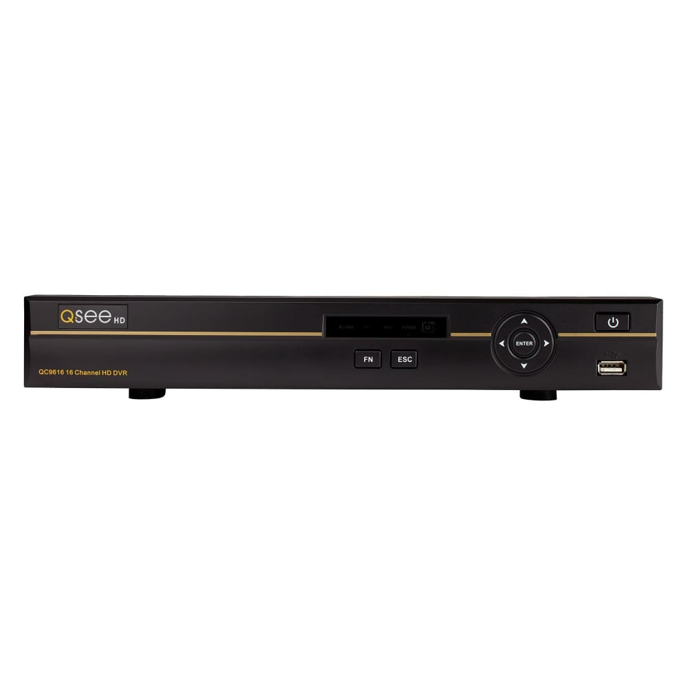 Q-See 16-Channel 4K HD Analog DVR with 2TB HDD 12 4MP Cameras PIR and Night VisionQ-See Vision