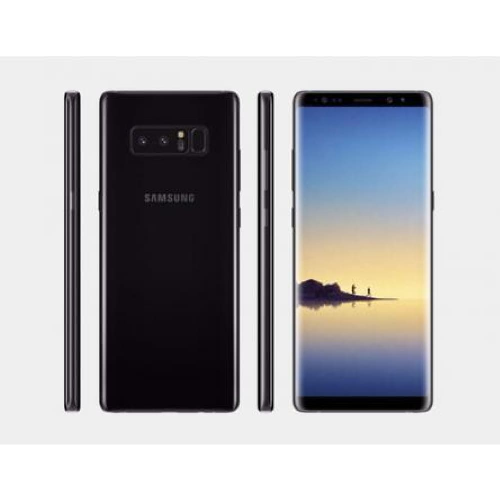 Samsung Galaxy Note 8 SM-N950F Single-SIM UNLOCKED Phone - 64GB - International Version - No Warranty (Midnight Black)