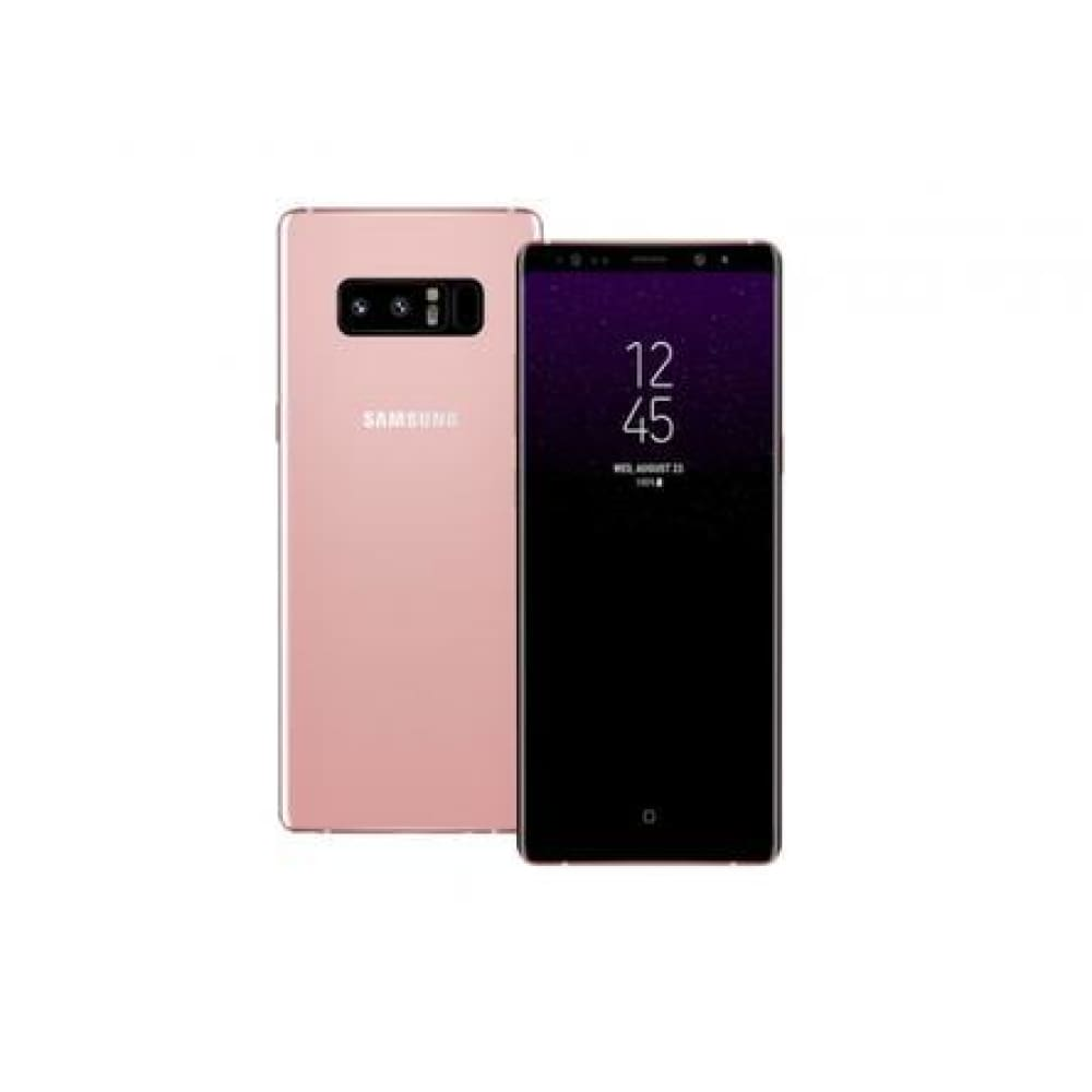 Samsung Galaxy Note 8 SM-N950F/DS Factory Unlocked Phone - (Soft Pink)