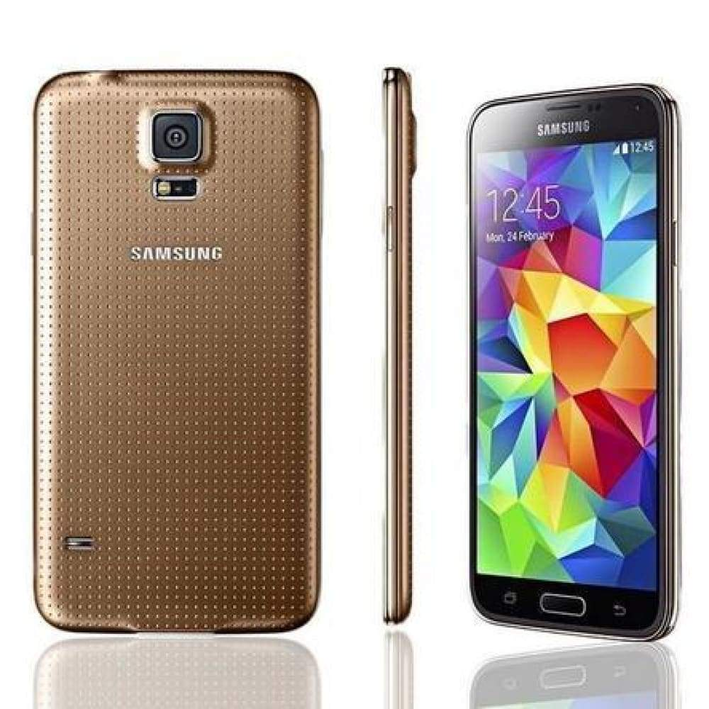 Samsung Galaxy Unlocked S5 G900V/P 16GB 16MP 5.1inch Touch Screen Smartphone Mobile Phone Cell 4 Colors US Standard Adapte