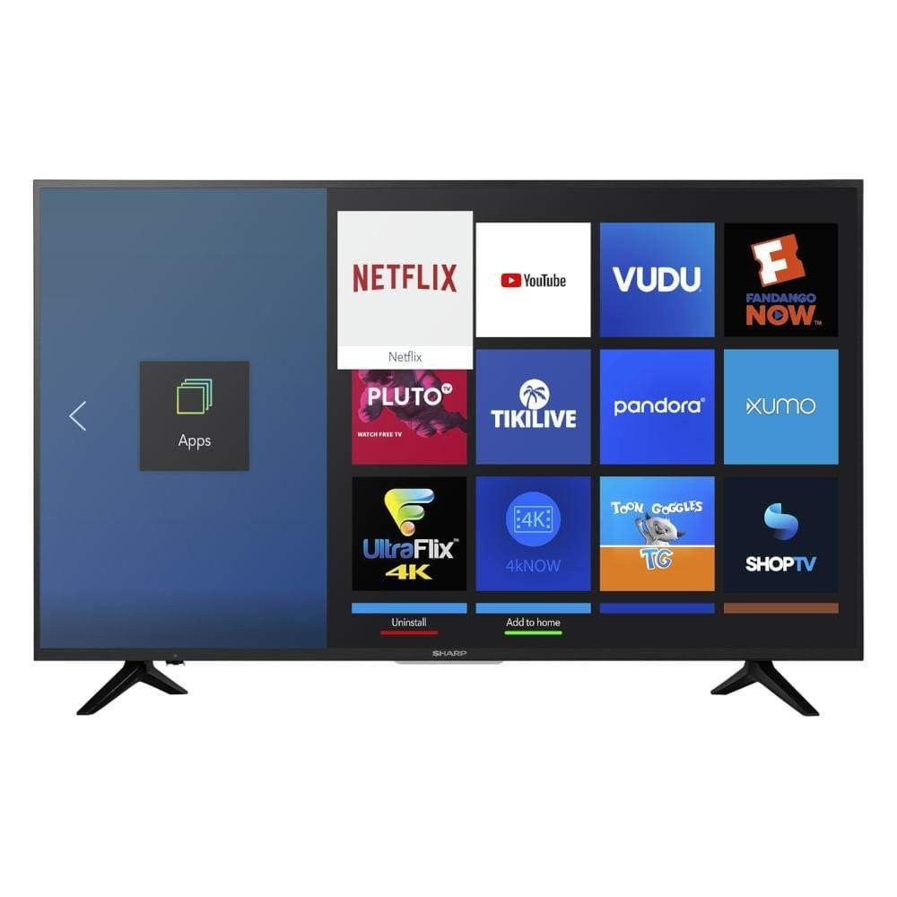 Sharp 55 Class 4K Ultra HD (2160P) HDR Smart LED TV (LC-55Q7030U)