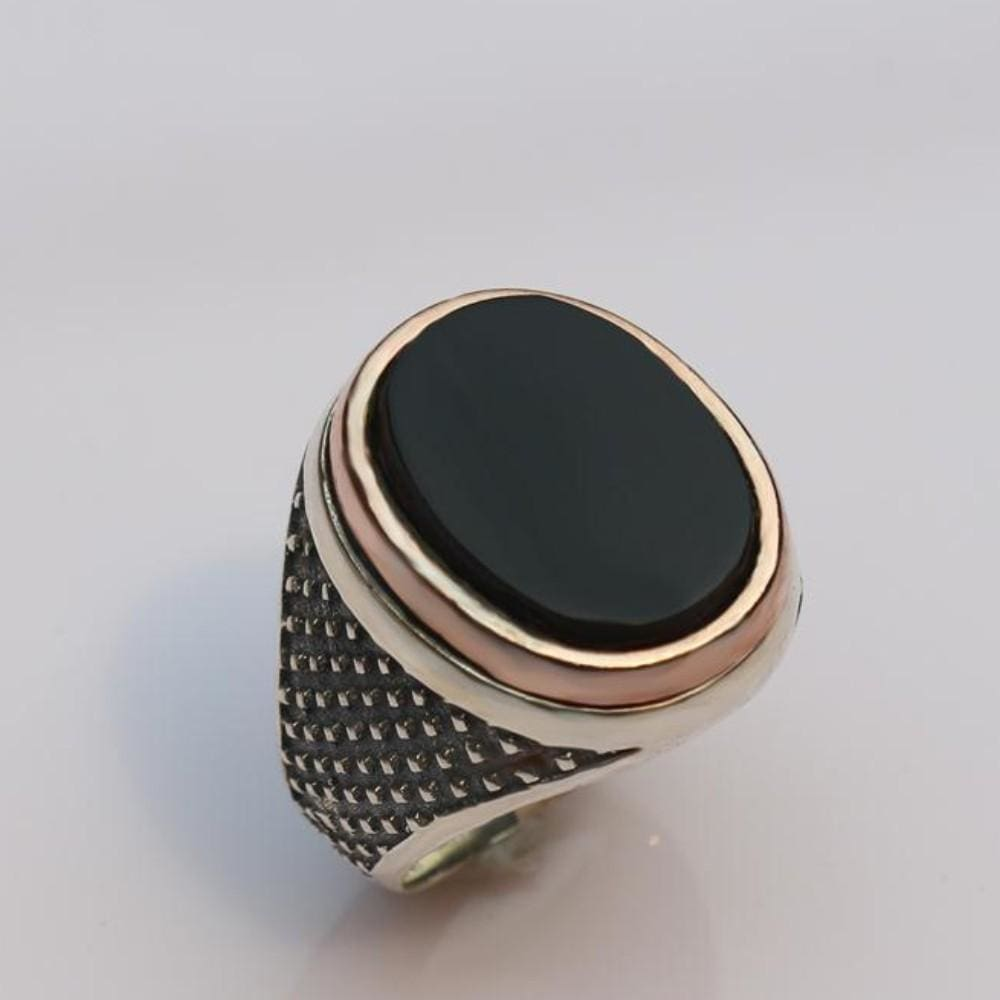 silver ring 925 sterling fashionable men with low price