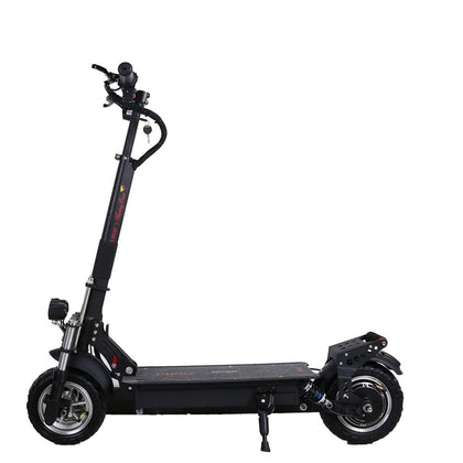 Single Driver Motor Hydraulic Suspension 10 INCH Foldable Electric Scootor with 1000W Turbine
