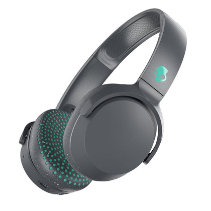 Skullcandy Riff Wireless Bluetooth Headphones - Gray