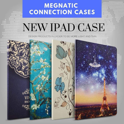 Smart Case for iPad 9.7 2018/2017 Lightweight Cover with Auto Sleep/Wake Microfiber Lining Hard Back 5th / 6th Generation