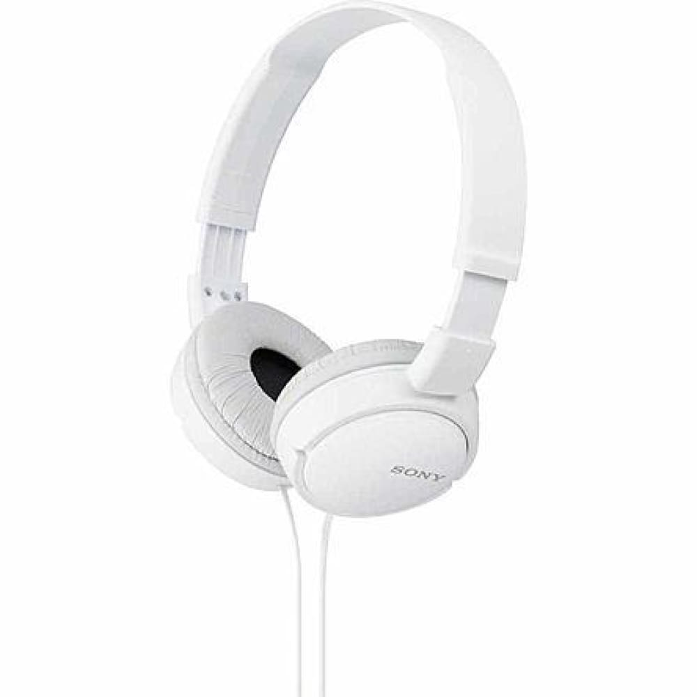 Sony MDR-ZX110/W ZX Series Stereo Headphones - White