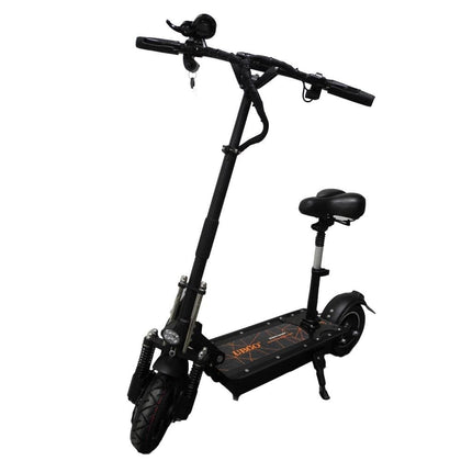 UBGO 1005 52V LG Battery Double Drive Motor Powerful Electric Scooter 10 Inch E-Scooter