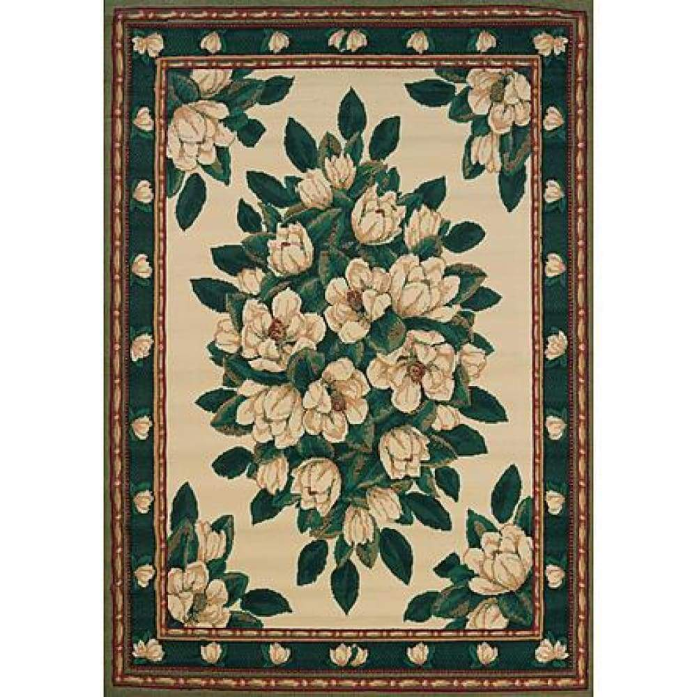United Weavers of America Manhattan Magnolia Cream Area Rug - 110 x 3 / Beige & Tan