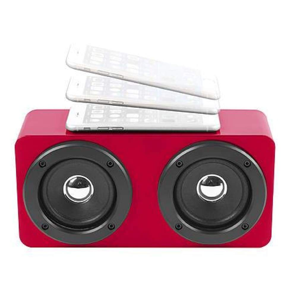 Vivitar VCB60014BT-RED-KM Tap & Play Bluetooth Speaker - Red