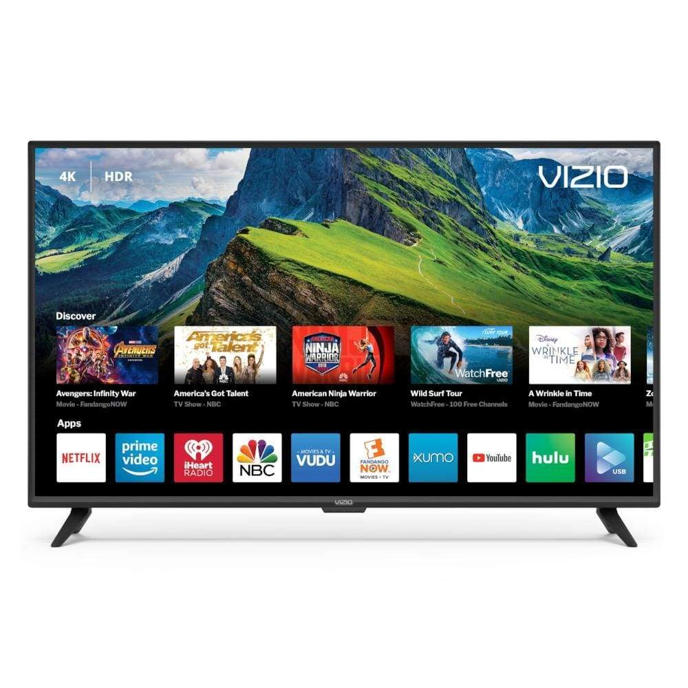 VIZIO 55 Class 4K Ultra HD (2160P) HDR Smart LED TV (D55x-G1)