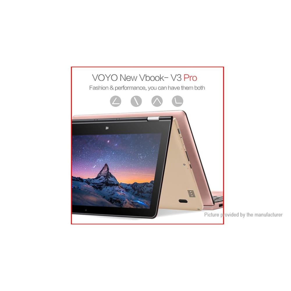 VOYO VBook V3 Pro 13.3 IPS Quad-Core Notebook (128GB/US)