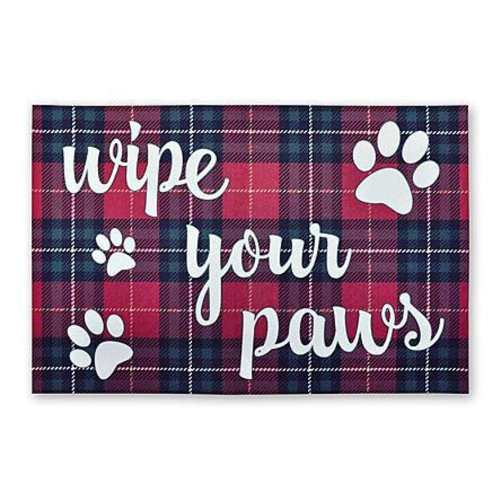 Wipe Your Paws Doormat - 1.5 x 2.5