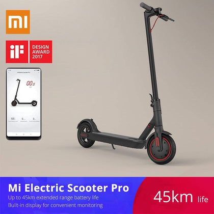 Xiaomi mijia M365/Pro adult electric scooter longboard hoverboard skateboard 2 wheel patinete electrico 45KM mileage