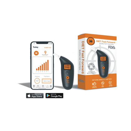 BOOST YOUR IMMUNITY: Diet Fast Forward 2.0 The Complete Ketone Meter And App System - Take Control With A Reliable Partner Improve Your