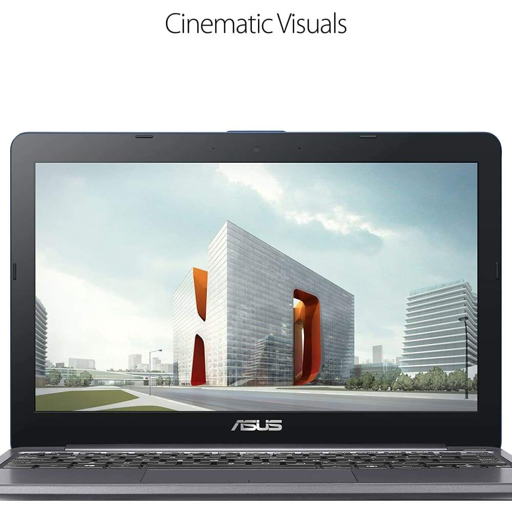"ASUS VivoBook L203MA Laptop 11.6"" HD Display Intel Celeron Dual Core CPU 4GB RAM 64GB Storage USB-C Windows 10 Home In S Mode Up To Hours"