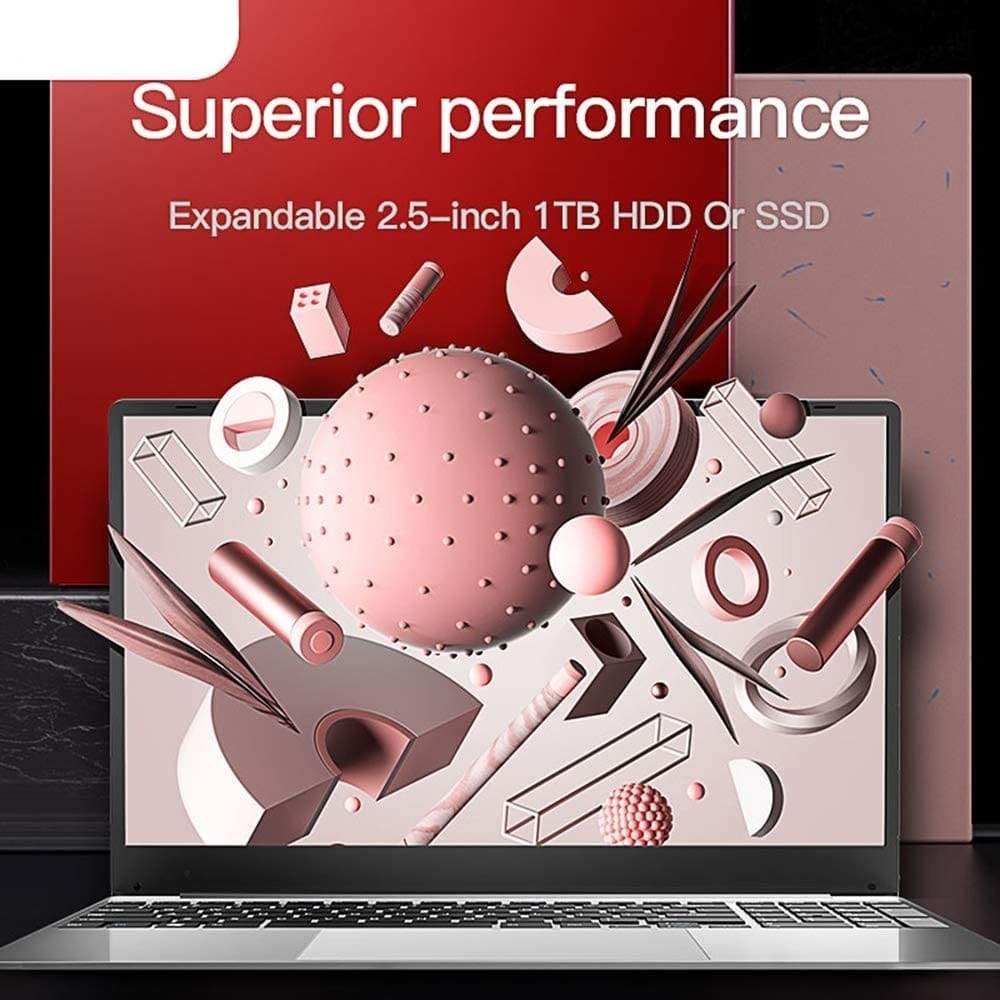Best Budget Laptop 15.6-inch Full HD Screen Red 8G RAM/128G Solid State Drive - Laptops $299 Free Shipping Worldwide