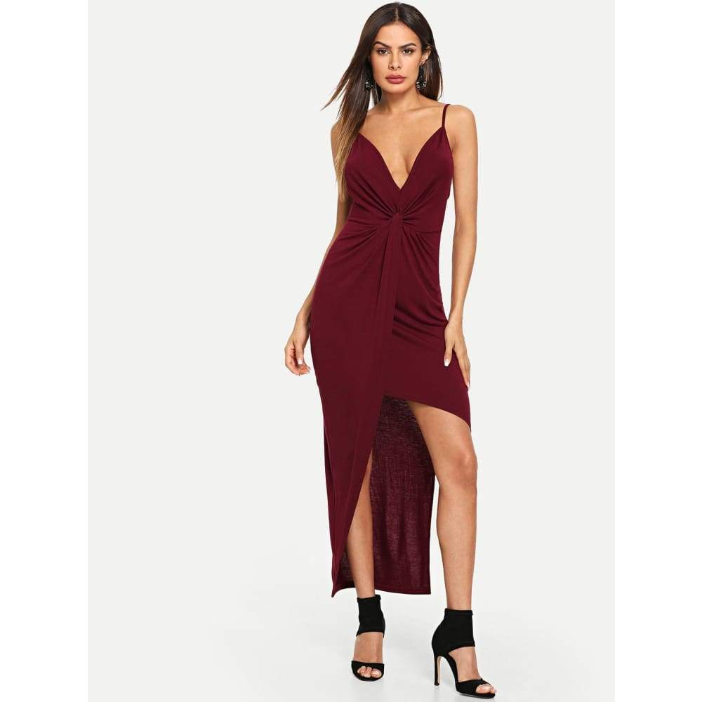Twist Front Cami Dress - Party